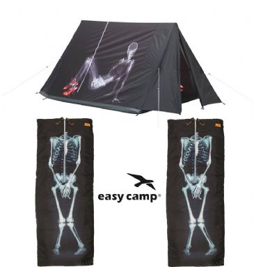 Camping Package Deal - Easy Camp IMAGE X-RAY Tent with  2 Sleeping Bags